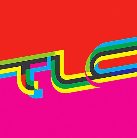 TLC  Snoop Dogg album cover typography