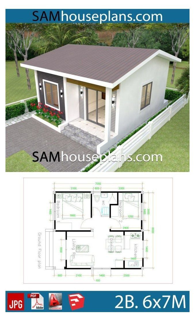 2 Bedroom House Designs Pictures 2020 Simple House Plans 2 Floors Simplehouseplans2floors 2 Bedro Small House Design Plans Little House Plans House Plans Unique small house plan