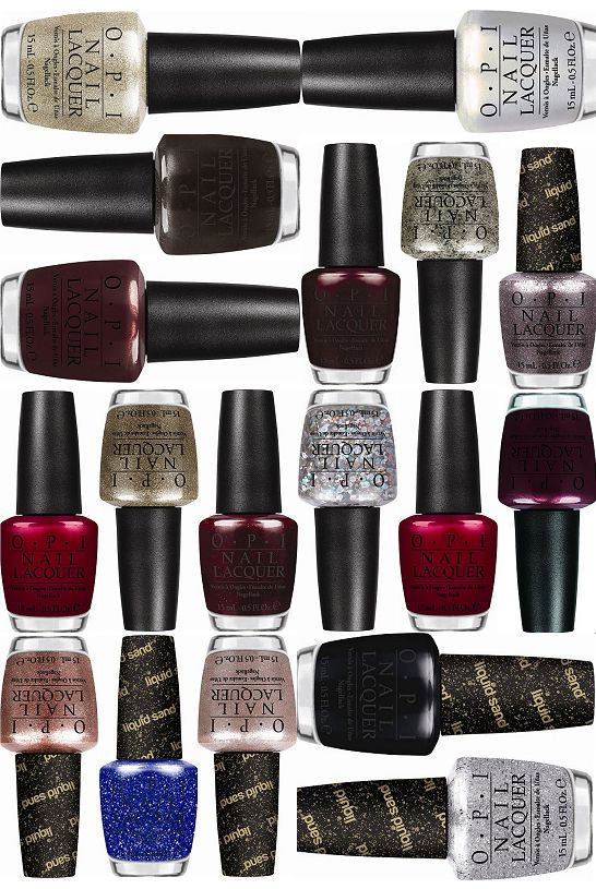 OPI Mariah Carey Holiday Collection 2013 (Click through for the official press release & more promo pictures!)