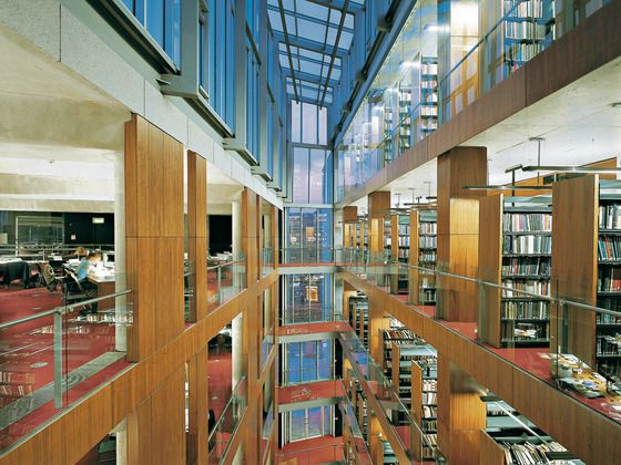 james ussher library | James Ussher Library in Trinity College, McCullough Mulvin Architects
