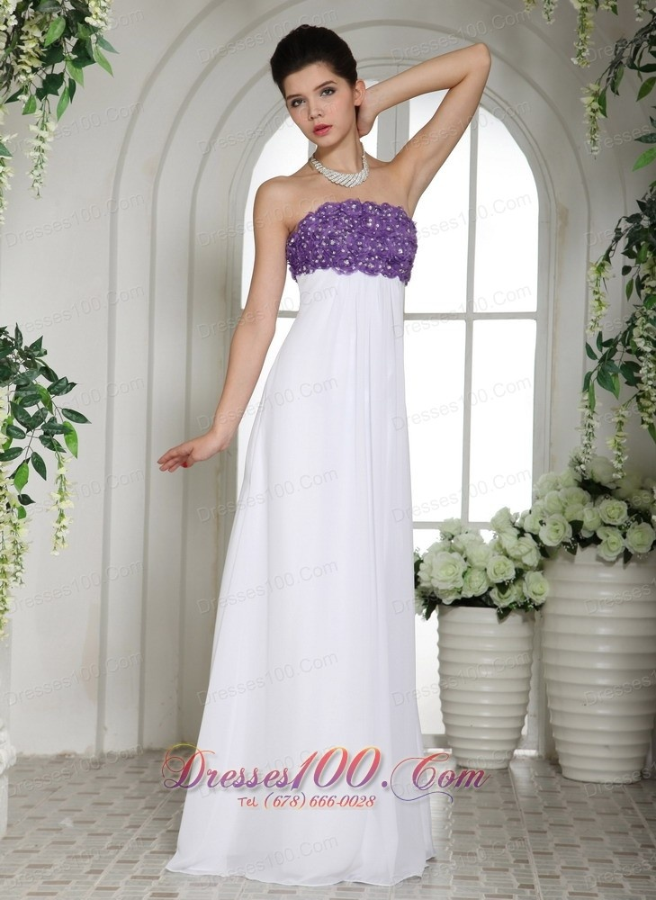 Purple And White Prom Dresses - Worksheet & Coloring Pages