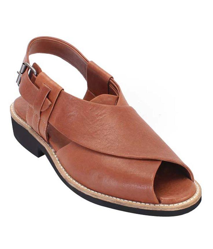 Humingo - Bareskin Tan Mens Dress Sandals