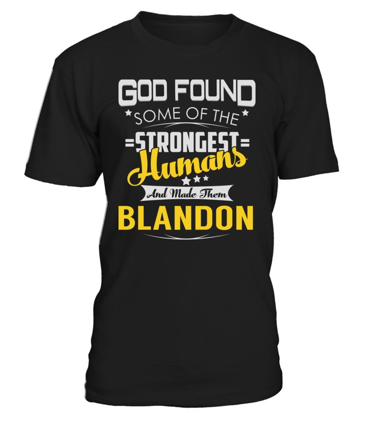 God Found Some of the Strongest Humans And Made Them BLANDON #Blandon