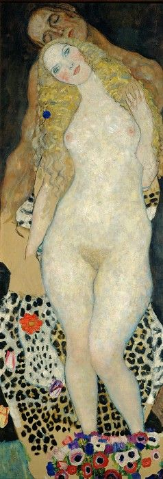 Gustav Klimt: Adam and Eve