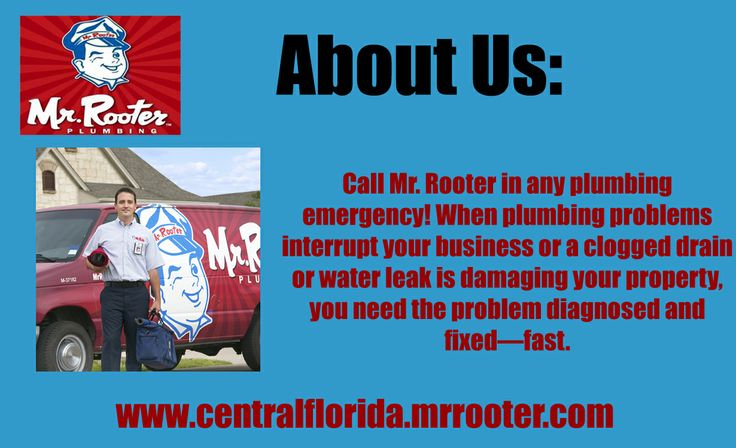 Mr. Rooter of Central Florida provides 24 hr emergency plumbing services in Casselberry and Sanford, FL. Call today to book an expert plumber you can trust. For more details visit: Plumbing services orlando florida