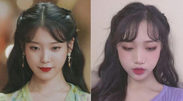Hairstyle Korean Girl Long In 2020 Korean Hair Color Iu Hair Hair Styles