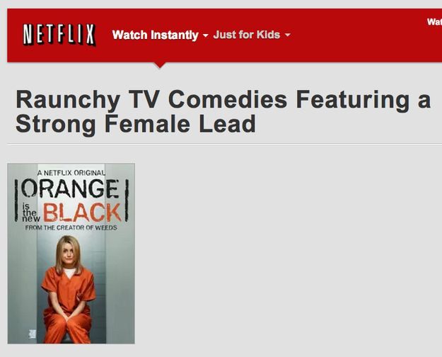 23 Oddly Specific Netflix Categories That Only Have One Show You Can Watch