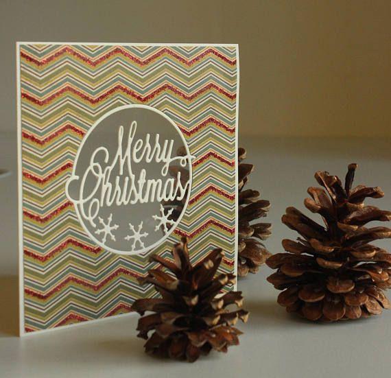 Christmas handmade Vintage Christmas card Christmas card