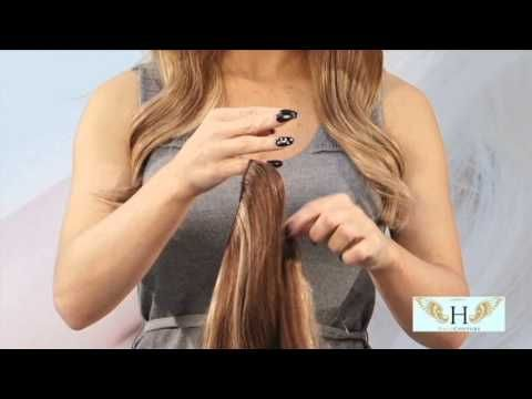 Complete Styling Video | Halo Couture Extensions - YouTube