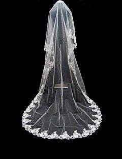 1 laag kathedraal lengte 600 cm lengte bruiloft sluier – EUR € 18.17