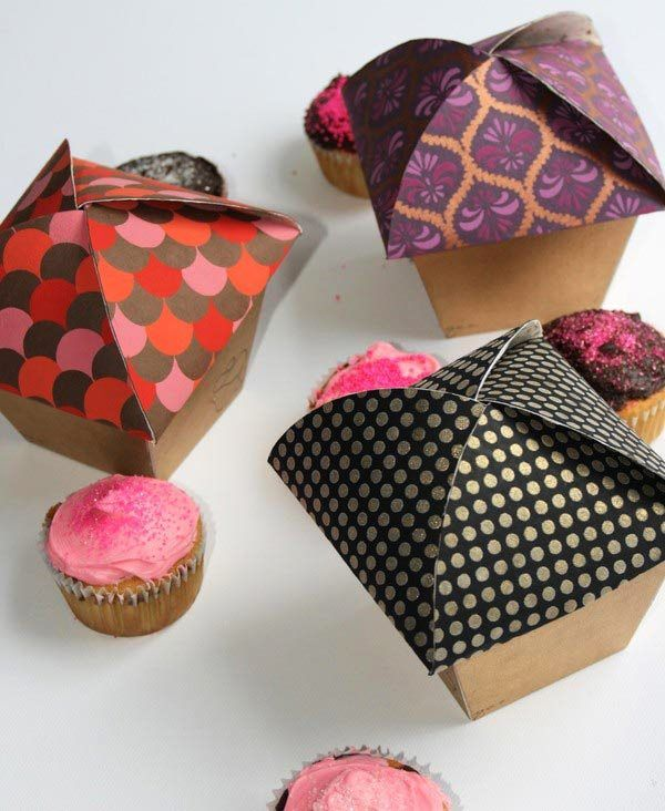 Kemasan Roti Biskuit dan Kue - Sugar Cupcake Packaging