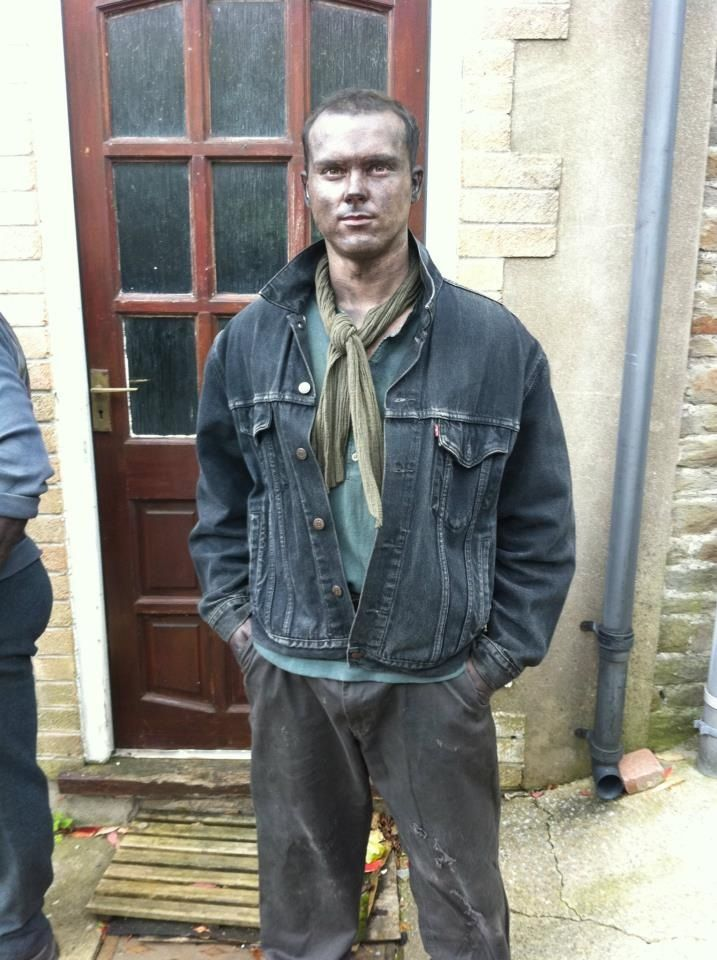 On set of BBC's The Indian Doctor