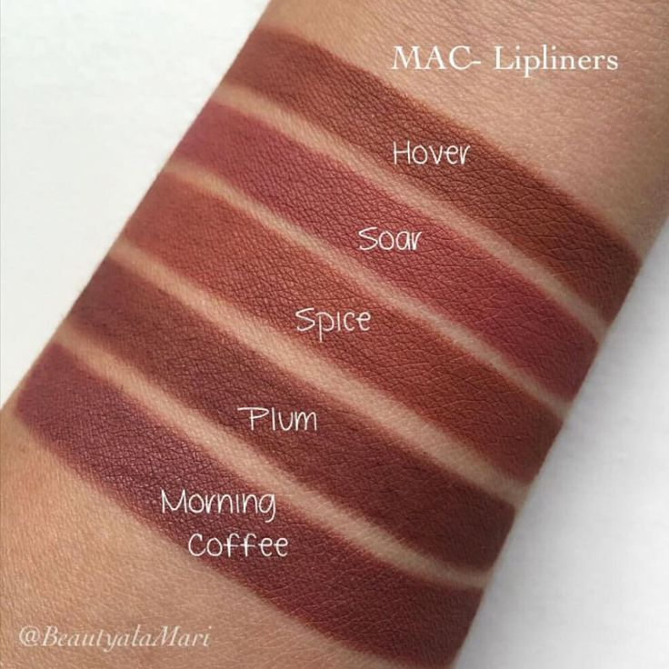 MAC Lip Pencil Swatches by @beautyalamari ✨