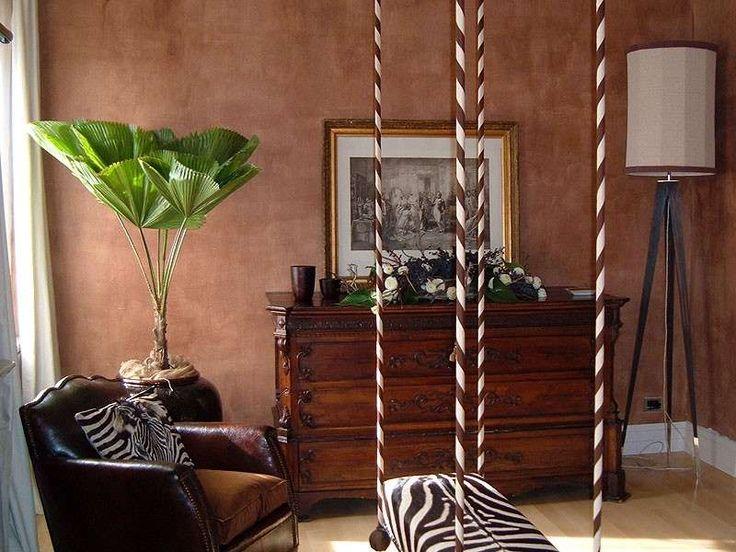 Arredare con le piante da interno - Grande piante in salotto