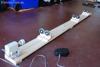 Homemade Fishing Rod Wrapping Machine