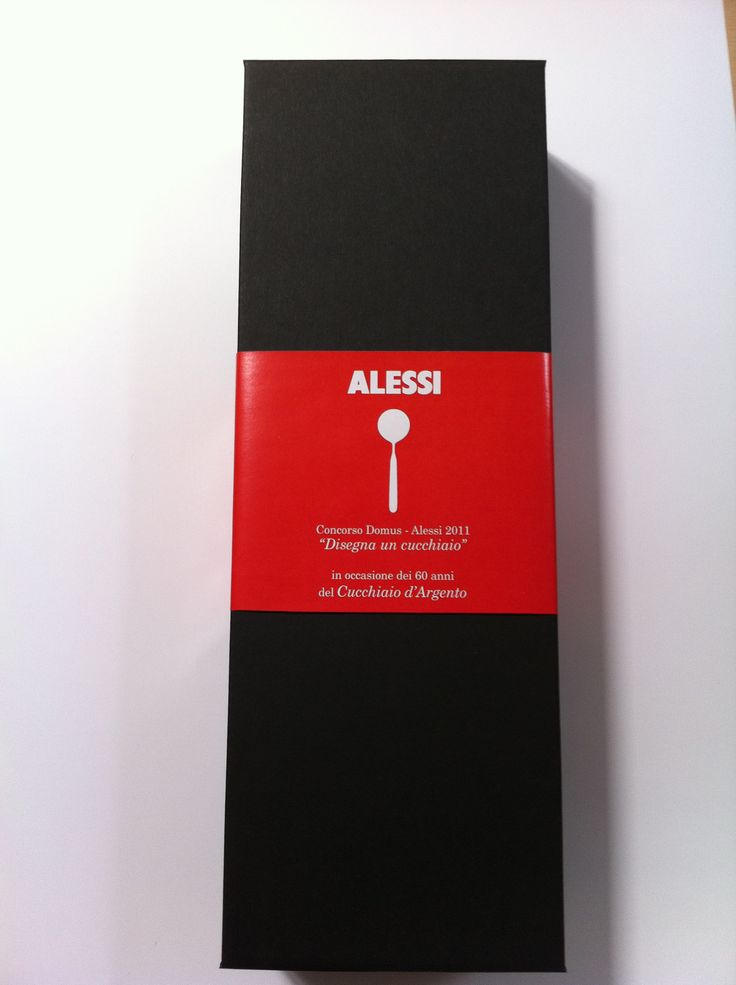 "ALESSI: Packaging ""Concorso Domus 2011""."