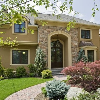 101 best images about home exteriors on pinterest pool for Manhattan tan paint color