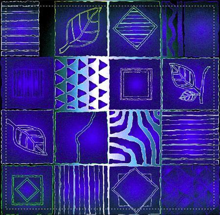 Etnico 005 blu - Moderno - Foto Artistiche su Tela - Listino prodotti - Digitalpix - Artistic photo - Canvas art - Modern Art - Home decor - Decorazione casa - interior design ideas - idee design interni