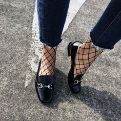 Fishnets are no longer considered rebellious or super sexy but are being added to daytime outfits, creating an on trend & textured look. www.stylestaples.com.au