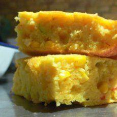 "Weight Watchers Cornbread: Serves 8 – Thanks to: ""senseicheryl"" posting on food.com   INGREDIENTS: 1 cup yellow cornmeal; 1 cup all-purpose flour; 2 tsp. baking powder; 3/4 tsp. table salt; 1/2 tsp. baking soda; 1 (14 3/4 oz.) can cream-style corn; 1/2 cup buttermilk; 2 egg whites; 2 tsp. corn oil"