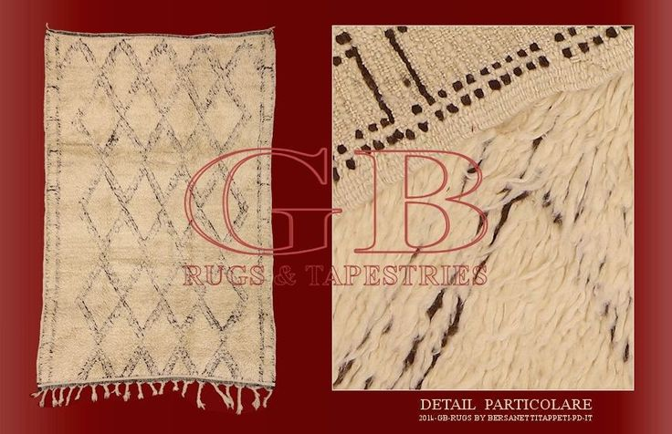 Old Beni Ourain, old Berber rugs_141435137767