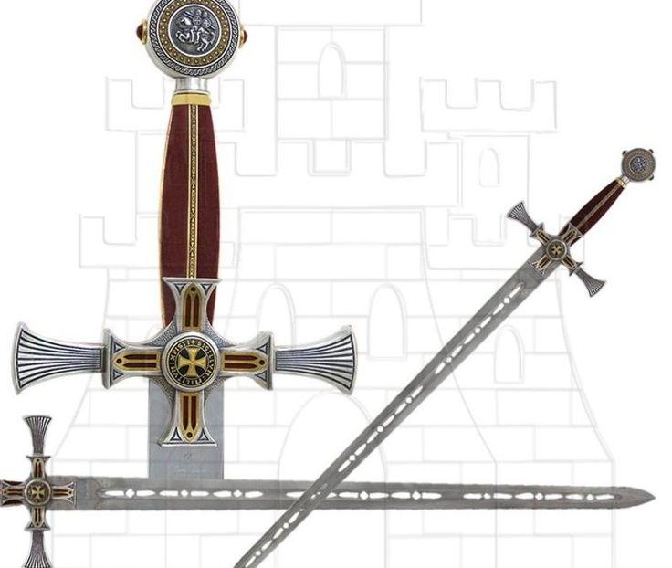 Espadas de los Caballeros Templarios|Tienda-Medieval