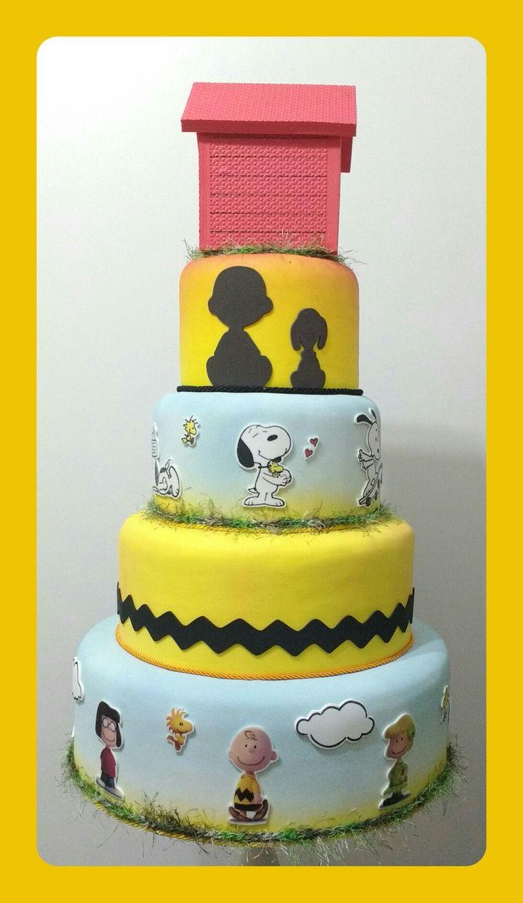 Pin by Natalie Jones on Tommies Birthday | Snoopy cake. Creative cakes