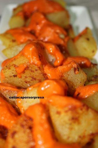 Una deliciosa receta de Patatas bravas para #Mycook http://www.mycook.es/receta/patatas-bravas/