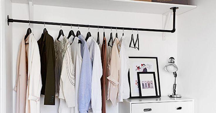 les 25 meilleures id es de la cat gorie garde robe pas. Black Bedroom Furniture Sets. Home Design Ideas