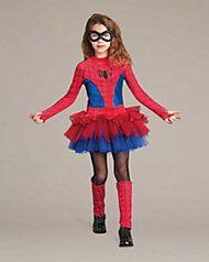 spider girl tutu costume for kids - Spider Girl Halloween Costumes