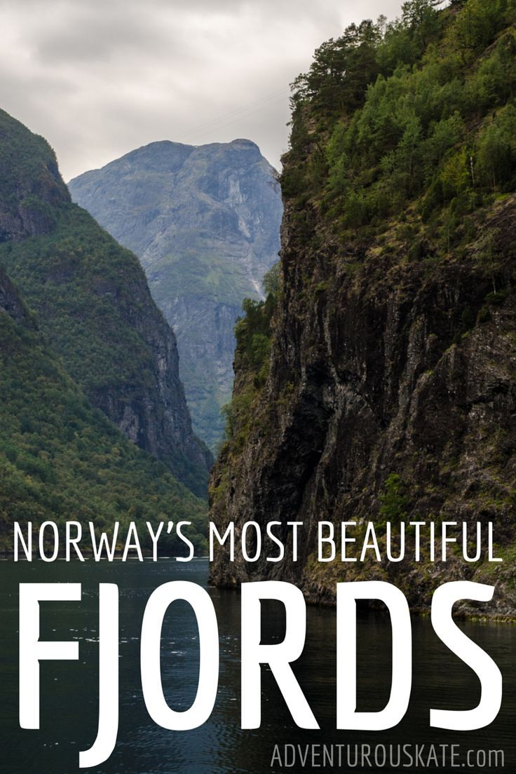 When you think about visiting Norway, what comes to mind first?  Fjords. It's always fjords. They are the symbol of the country and one of the reasons why