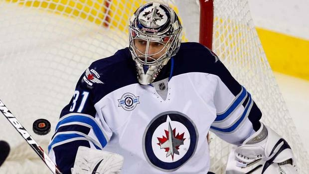 Winnipeg Jets goalie Ondrej Pavelec signed a five-year contract with the team in June. (File/Canadian Press) ...banned from driving for 20 months in his native Czech Republic after being found guilty of drunk driving.    The 24-year-old Pavelec also received a six-month suspended prison sentence for causing a traffic accident May 26 in his hometown of Kladno, west of the capital Prague…