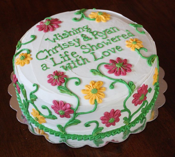 44 Best Images About Wedding/Shower Cakes On Pinterest