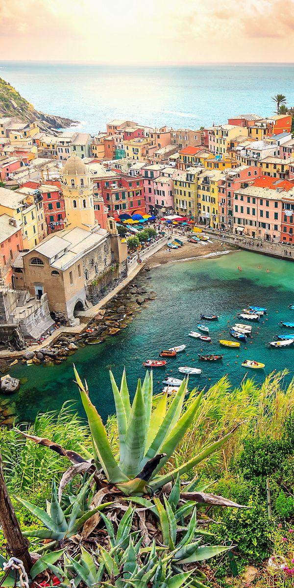 Cinque Terre, Italy - Cinque Terre means five lands that comprises of Manarola, Riomaggiore, Monterroso, Corniglia and Vernazza.