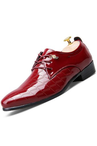 PINSV Men Formal Shoes Casual Leather Oxfords Shoes (Red) | ราคา: ฿814.00 | Brand: PINSV | See info: http://www.topsellershoes.com/product/39101/pinsv-men-formal-shoes-casual-leather-oxfords-shoes-red