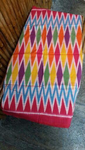 Rangrang in javanese hand woven version, colorful n fresh
