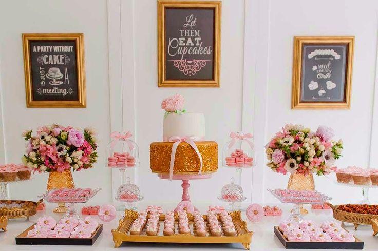 Bella_Fiore_Decoração_festa_rosa_dourado Bella_Fiore_Decor_party_pink_gold