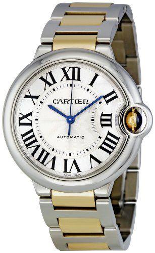 Cartier Men's W6920047 Ballon Bleu Steel and 18Kt Gold Watch Cartier http://www.amazon.ca/dp/B003UCXPSY/ref=cm_sw_r_pi_dp_p5-jvb0V833WJ