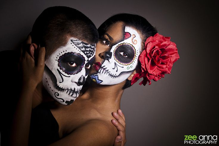 day of the dead couple - photo #4