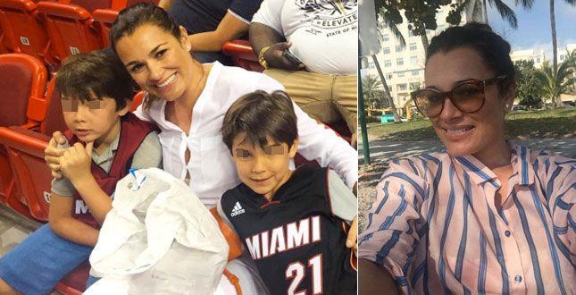 MIAMI Alena Seredova, ex moglie del portiere della Nazionale Gigi Buffon, ha fatto i bagagli ed è volata a Miami con i