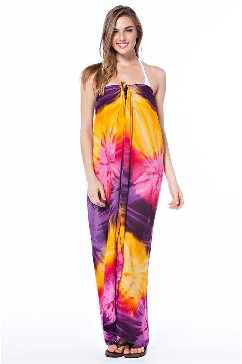 summer sarongs | Barbra Collection Summer Beach Sarong Dress