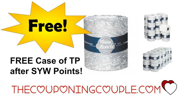 Who wants it??  FREE Cottonelle Toilet Paper at Kmart after SYW Points + FREE shipping with MAX   FREE Case of Cottonelle Toilet Paper from Kmart after Shop Your Way 100% points back! [adrotate banner= '65']Check out this killer deal at Kmart! Buy a case ofKimberly-Clark KLEENEX® COTTONELLE Toilet Paper, 20 rolls and get 100% back in SYW points to spend! This is NOT a roll...  Click the link below to get all of the details ► http://www.thecouponingc