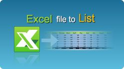 Import Excel file to List in C#, VB.NET, Java, PHP, C++ and other programming languages! The entire sheet data or only data from a range of cells can be imported. #Excel #CSharp #VBNET #Java #PHP #CPlusPlus