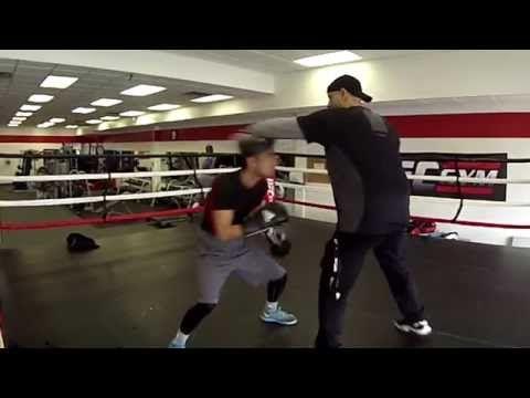 Coach Rick's Mittology - Advanced Tutorial #WorkingtheBody India's Top Olympic Boxer Shiva Thapa - YouTube