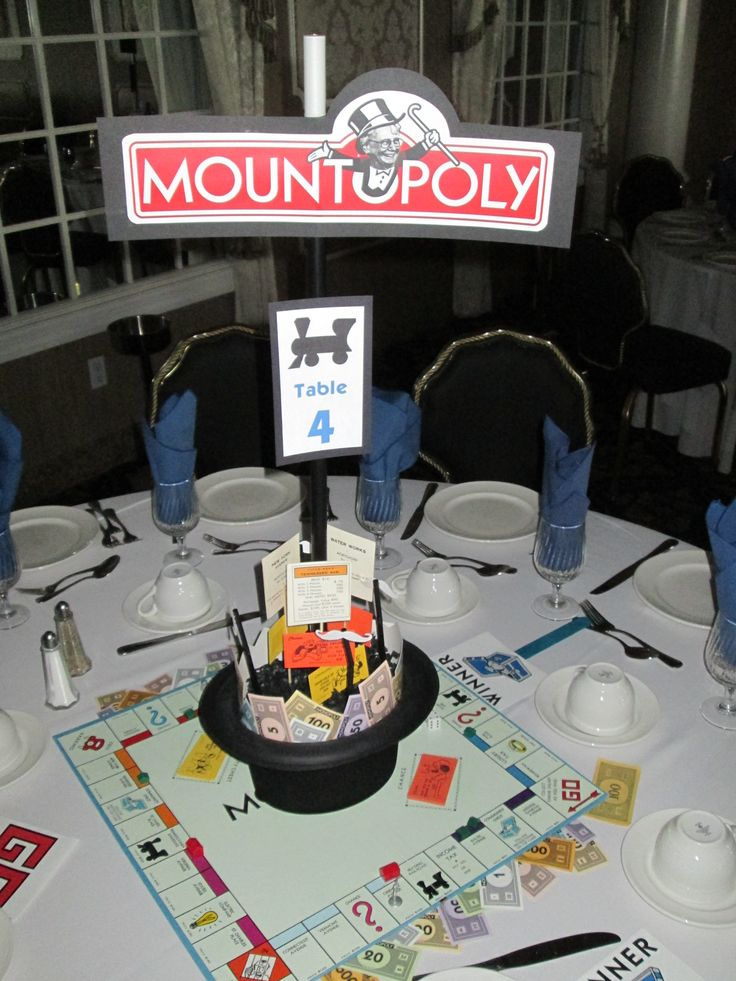 Mountopoly Tricky Tray  fundraising event for Mt. St Dominic Academy