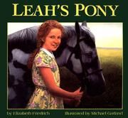 Cover of: Leah's Pony by Elizabeth Friedrich