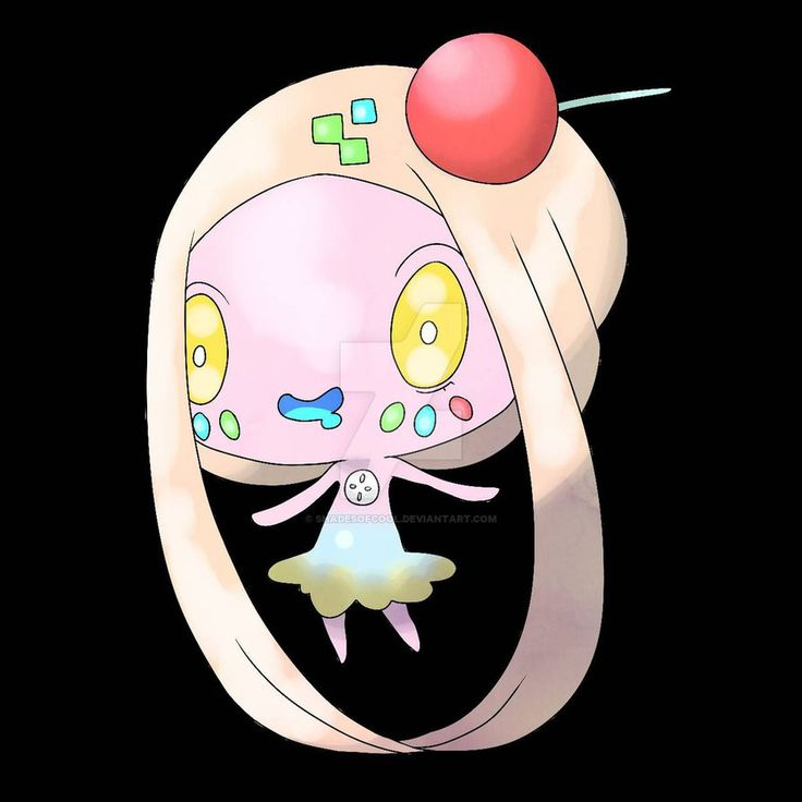 "& ""Hilolly is a Mythical pokemon. Its said to be the tooth fairy of the Saulia region it collects teeth , people know when the pokemon has been around because it leaves a trail of shiny jelly b..."
