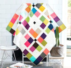 Town Square Modern Brights Quilt Kit