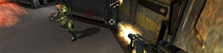 """Tracing Trends: Multiplayer FPS """"Playing through the single-player was cool - it was linear, but far more interesting than Doom 3. It felt a lot more like Quake 2, and the additional people to interact with were a big bonus. However, I was in for a big shock when I fired up multiplayer."""" This pin provides somewhat of a summary about a the history of FPS MP games. website: http://www.bit-tech.net/gaming/pc/2005/12/08/multiplayer_fps/1"""