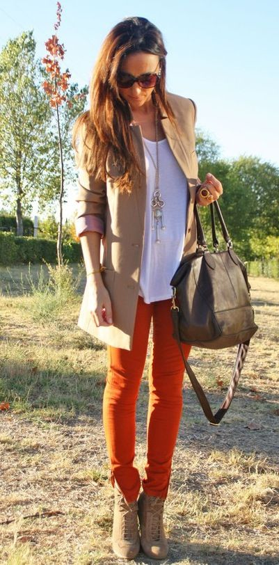 How to wear ankle boots [ AlbertoFermaniUSA.com ] #boots #fashion #style